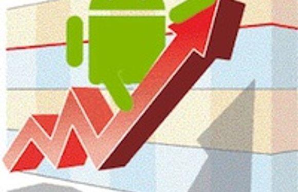 Marktaandeel Android groeit wereldwijd naar 35 procent