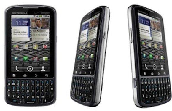 Zakelijke Motorola Pro Android-telefoon komt eindelijk naar Europa