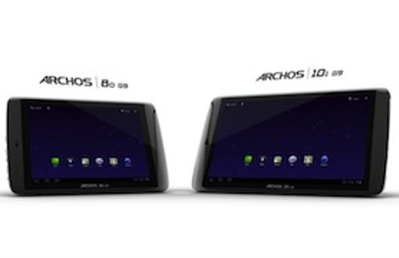 Archos presenteert nieuwe Honeycomb-tablets, de 80 G9 en 101 G9