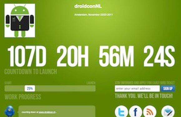 Droidcon komt in november naar Amsterdam