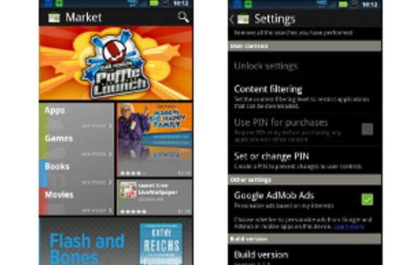 Android Market voor Ice Cream Sandwich gelekt