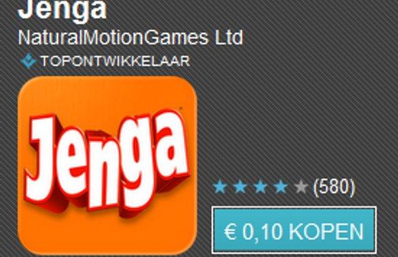 Tien apps voor tien cent dag 6 met o.a. Jenga, Backstab HD en Sim City Deluxe