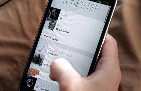 Tunester: fijne minimalistische muziekspeler met swipe-besturing
