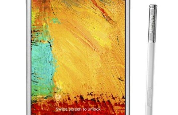 'Galaxy Note 3 krijgt lcd-scherm, 8 megapixel-camera en wordt waterdicht'