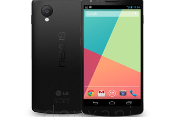 Nexus 5 specs bevestigd: 5 inch full hd, Snapdragon 800, 16GB en Android 4.4