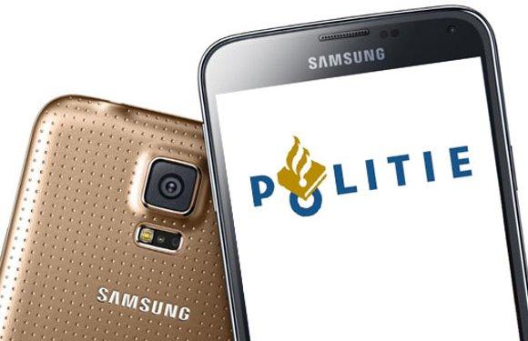 Politie kiest voor Galaxy S5 als nieuwe diensttelefoon – update