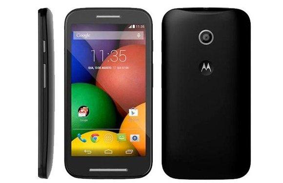 Motorola Moto E: goedkope topper met KitKat nu verkrijgbaar