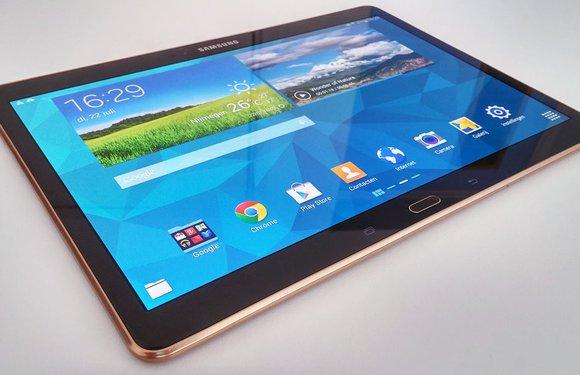 Samsung Galaxy Tab S Review: toptablet met prachtig scherm