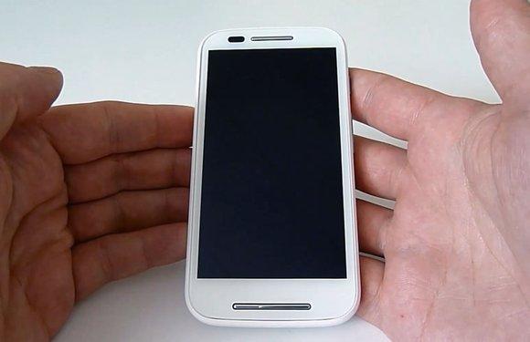 Motorola Moto E Review: budgetsmartphone doet veel concessies
