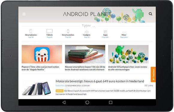 Deel je mening over Android Planet en win een nieuwe smartphone