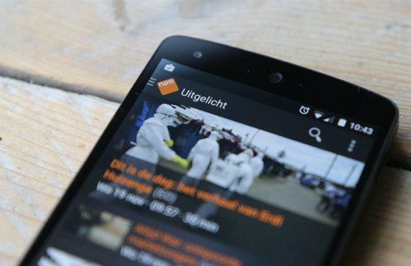 NPO Start-app voor Android TV vandaag eindelijk beschikbaar