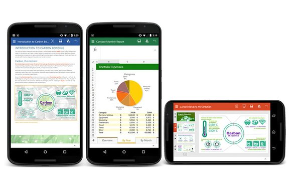 Download: Microsoft Office-apps voor Android