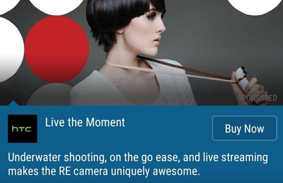 In 3 stappen advertenties in HTC Blinkfeed uitschakelen