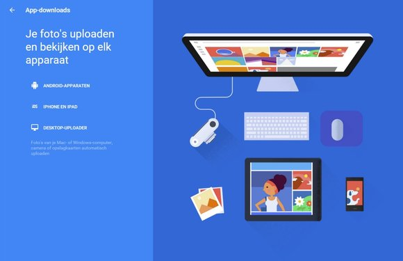 Download de Google Foto's desktop-app om al je foto's te back-uppen