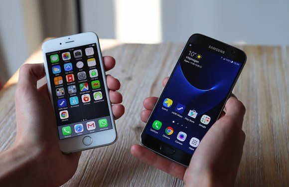 Samsung Galaxy S7 vs iPhone 6S: strijd der vlaggenschepen