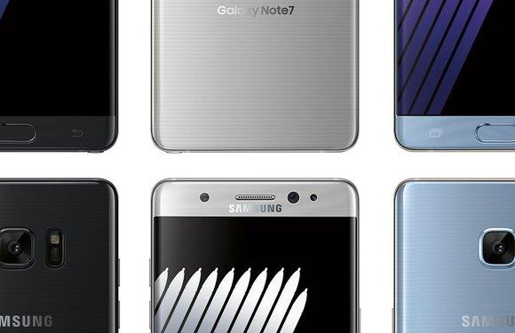 Overzicht: de korte geschiedenis van de Samsung Galaxy Note 7