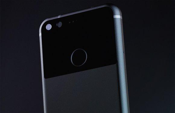 Google Pixel-foto's tonen toestel in het zwart, blauw en zilver