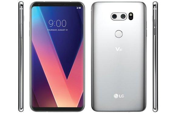 'Gelekte renders tonen LG V30 in volle glorie'