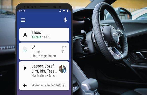 Android Auto-update verbetert muziek-apps, toont betere notificaties