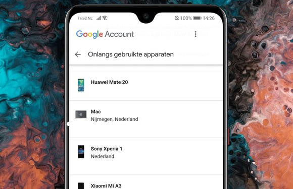 Zo verwijder je apparaten die toegang tot je Google-account hebben