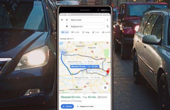 Zo kun je met Google Maps makkelijk (hemelsbrede) afstanden meten