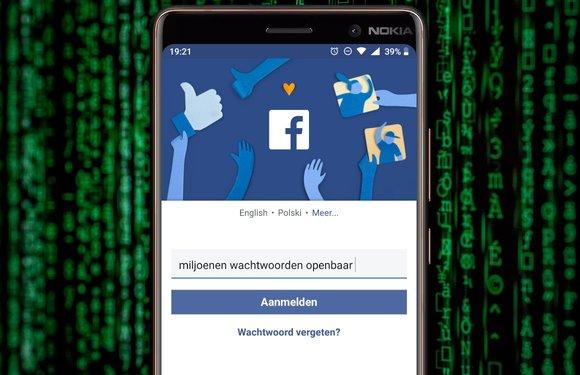 Weer een Facebook-schandaal: miljoenen wachtwoorden jarenlang openbaar