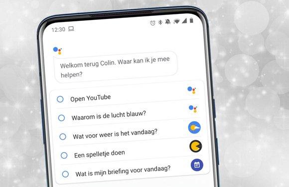 Lijstjes maken in notitie-apps kan nu via de Google Assistent