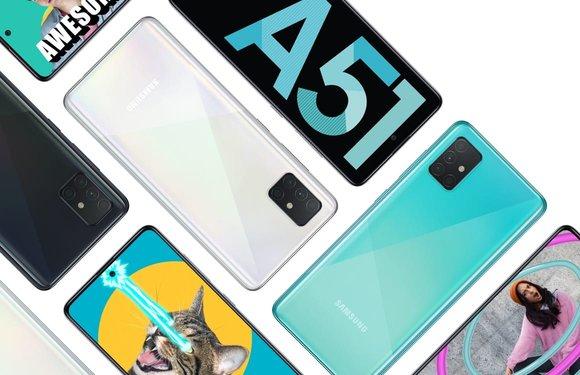 Samsung Galaxy A51 met vijf camera's en Android 10 nu te koop in Nederland