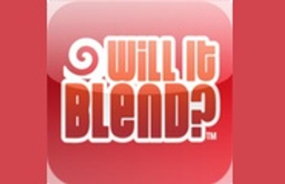 'Will it Blend?' heeft nu eigen iPhone-app