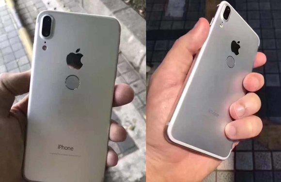 'Nieuwe iPhone 8-foto's tonen Touch ID aan de achterkant'