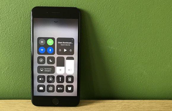 EFF: 'Bluetooth- en wifi-knop in Bedieningspaneel iOS 11 misleidend en onveilig'