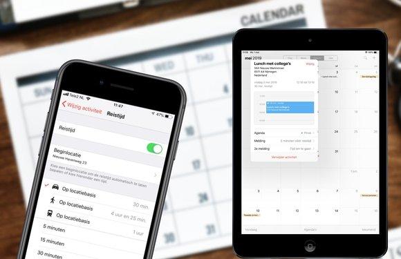 In 7 stappen reistijden toevoegen aan de Agenda-app