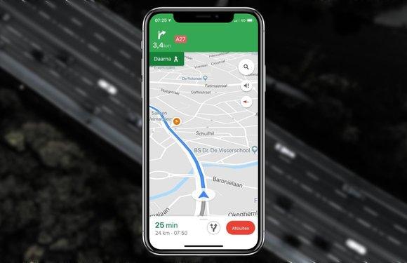 Google Maps test flitser-waarschuwingen in Nederlandse iPhone-app