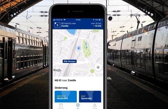 Met de NS Lab-app reis je in de toekomst van de Reisplanner