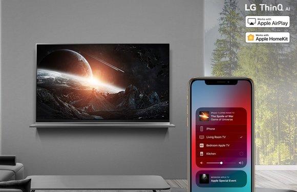 LG brengt AirPlay 2 en HomeKit-update uit voor 2019 tv-modellen