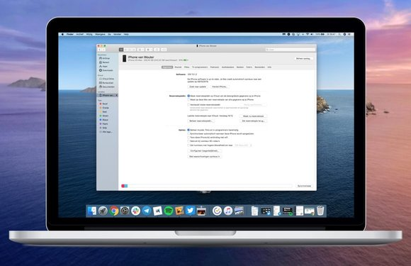 macOS Catalina-tip: zo synchroniseer je een iPhone via Finder