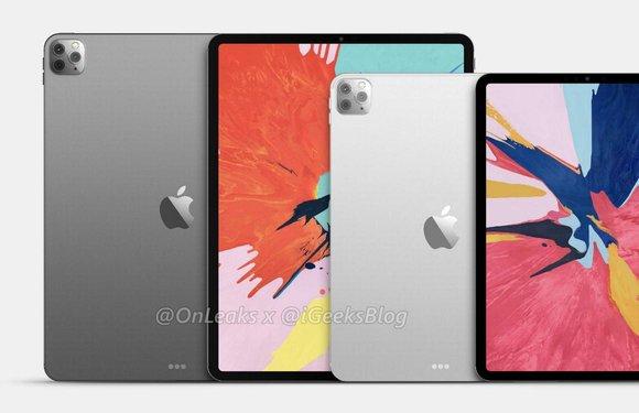 iPad Pro 2020-renders tonen herkenbare cameramodule