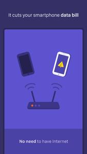 Weafo bestandsoverdracht app