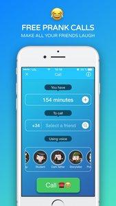 Funny Call - Pranks gesprekken met Voice Changer
