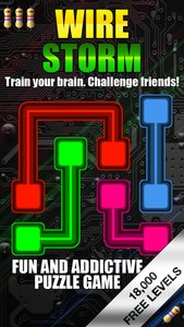 Wire Storm - Fun and Addicting Logic Puzzle Game