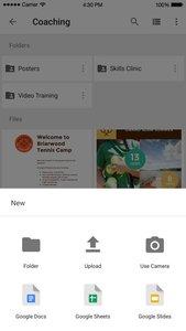 Google Drive - online bestands