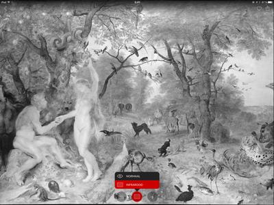 Second Canvas Mauritshuis