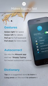 Minuum - The Little Keyboard for Big Fingers