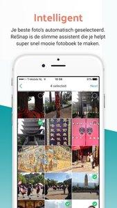 ReSnap - Fotoboek gemakkelijk in 1 minuut te maken