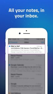 Mail to Self • Send notes to your email in one tap