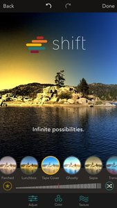 Shift - Create Custom Filters with Textures, Gradients, and Blends