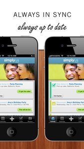 SimplyUs - Shared Calendar, ToDo Task List & Organizer for Couples