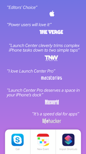 Launch Center Pro