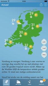 Weerbericht Nederland