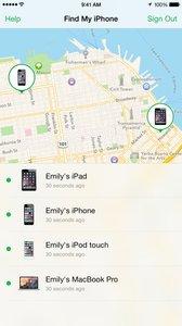 Zoek mijn iPhone